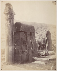 Inner view of East Gateway of the Stupa at Bharhut: PRINT MISSING
